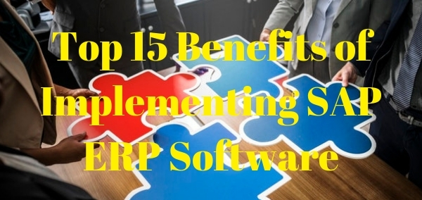 Benefits of Implementing SAP Software Solutions