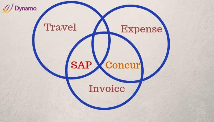 TAVEL invoice and expense of sap concur